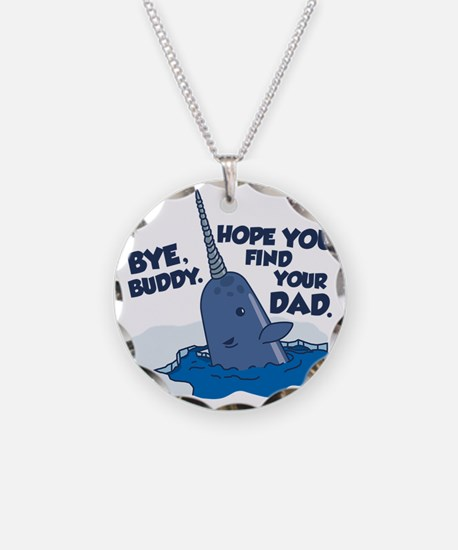 Elf Narwhal Necklace