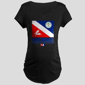 Dive Belize Maternity Dark T-Shirt