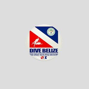 Dive Belize Mini Button