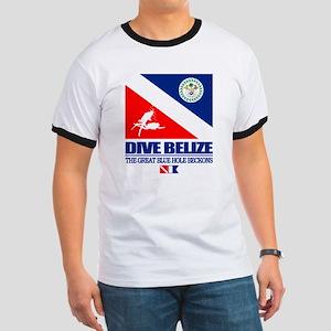Dive Belize Ringer T