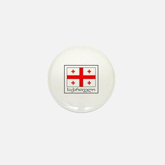 Unique Tbilisi georgia Mini Button