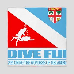 Dive Fiji Queen Duvet