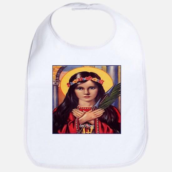 Saint Philomena Bib
