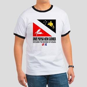 Dive Papua New Guinea Ringer T