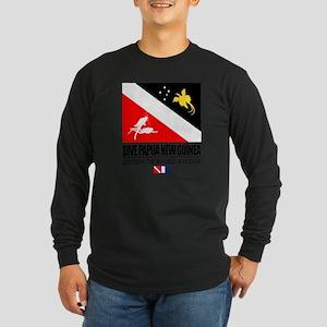 Dive Papua New Guinea Long Sleeve Dark T-Shirt