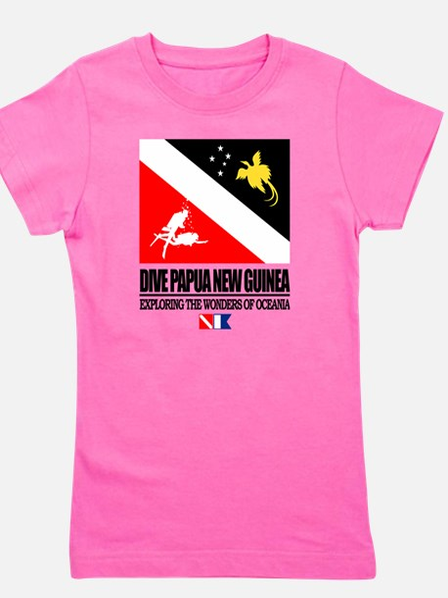 Dive Papua New Guinea Girl's Tee