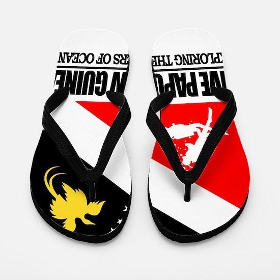 Dive Papua New Guinea Flip Flops