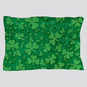 Shamrock Pattern Pillow Case