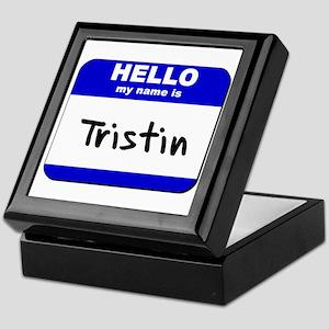 hello my name is tristin Keepsake Box