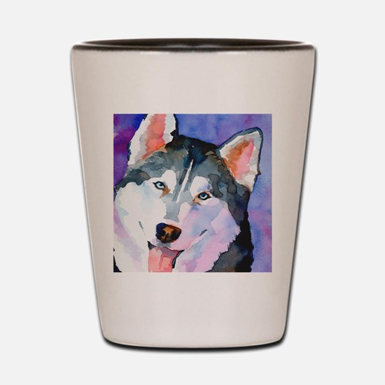 Husky #1 Shot Glass