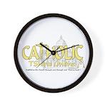 Catholic TShirts Online Wall Clock