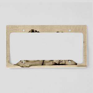 Bath Time License Plate Holder