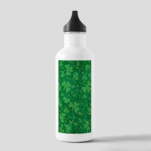 Shamrock Pattern Stainless Water Bottle 1.0L