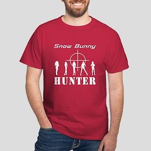 Snow Bunny Hunter Dark T-Shirt