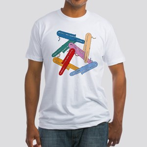 Colorful Contrabassoons - Fitted T-Shirt