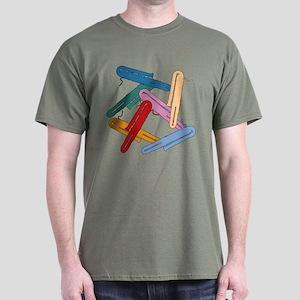 Colorful Contrabassoons - Dark T-Shirt