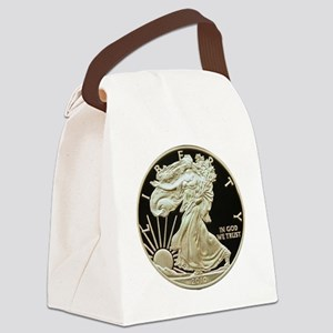 American Eagle 3x3 Canvas Lunch Bag