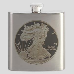 American Eagle 3x3 Flask