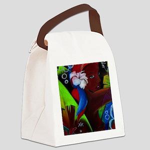 Where Rainbows Dance 3 Canvas Lunch Bag