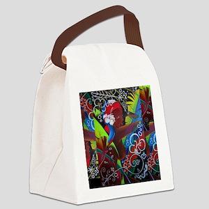 Where Rainbows Dance 2 Canvas Lunch Bag