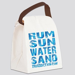 TIKI - RUM SUN WATER SAND - OCEAN Canvas Lunch Bag