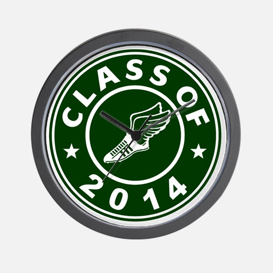Class Of 2014 Track and Field Wall Clock