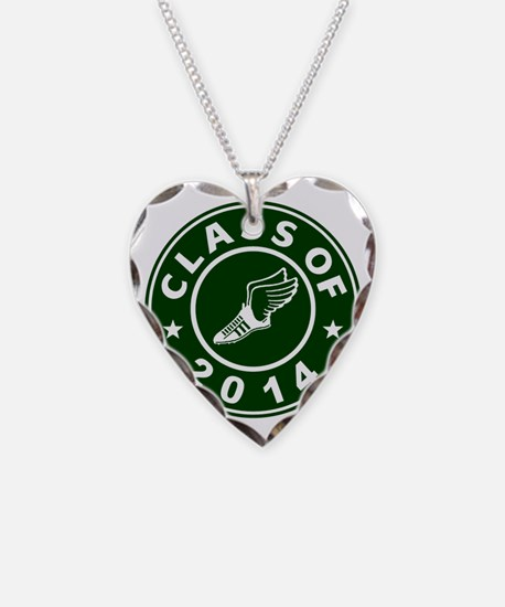 Class Of 2014 Track and Field Necklace