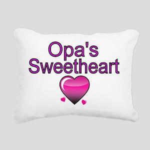 Opas  Sweetheart Rectangular Canvas Pillow
