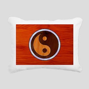 wood-yang-OV Rectangular Canvas Pillow