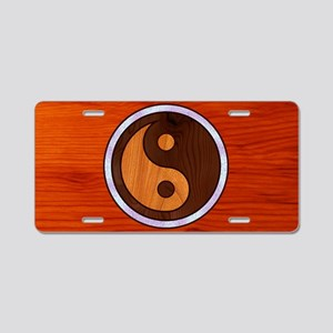 wood-yang-OV Aluminum License Plate