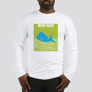 MOBY DICK POSTER Long Sleeve T-Shirt
