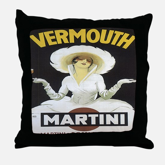MartiniRossiAll-Over Throw Pillow