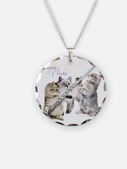 Felines & Flute Necklace