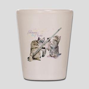 Felines & Flute Shot Glass