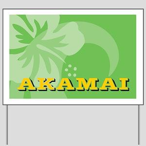 Akamai Large Serving Tray Yard Sign