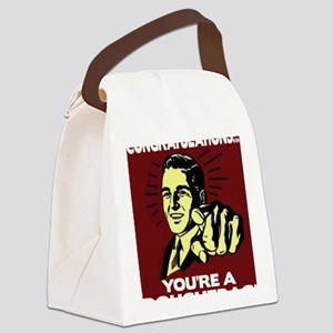 @RTDouchebags Canvas Lunch Bag