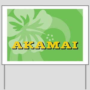 Akamai Messenger Bag Yard Sign