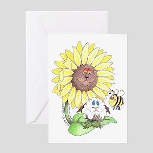 God's lil Garden Greeting Card