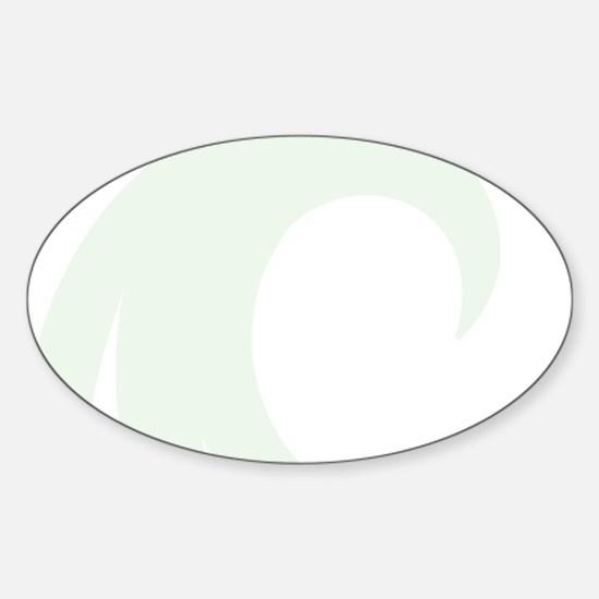 Akamai Magnetic Dry Erase Board Sticker (Oval)