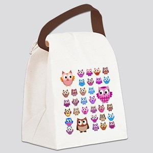 Owls! Canvas Lunch Bag