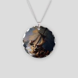 rembrandt Necklace Circle Charm
