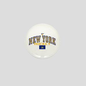 NY Hockey Mini Button