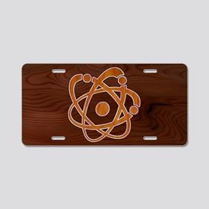 atomic-inlay-OV Aluminum License Plate