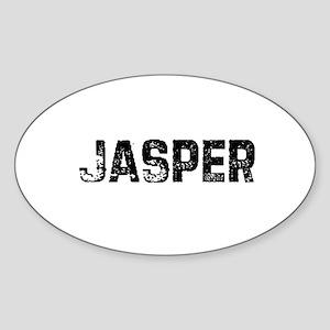 Jasper Oval Sticker