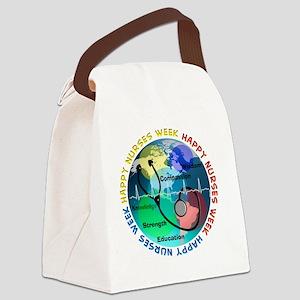 happy nurses week 2013 best Canvas Lunch Bag