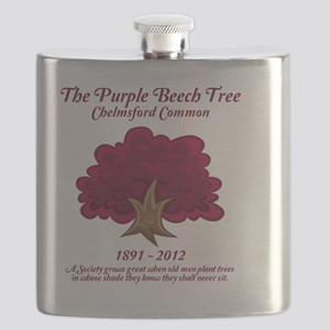 The Purple Beech Tree Flask