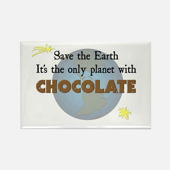 Save the Earth Rectangle Magnet