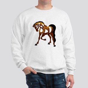 jasper brown horse Sweatshirt
