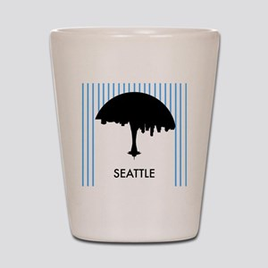 Seattle City Logo Shot Glass