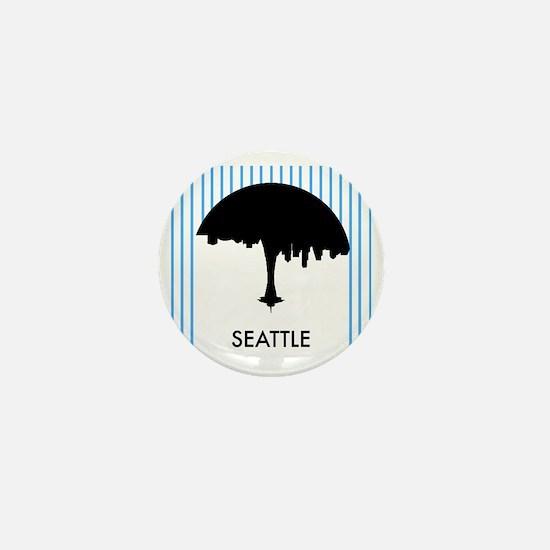 Seattle City Logo Mini Button
